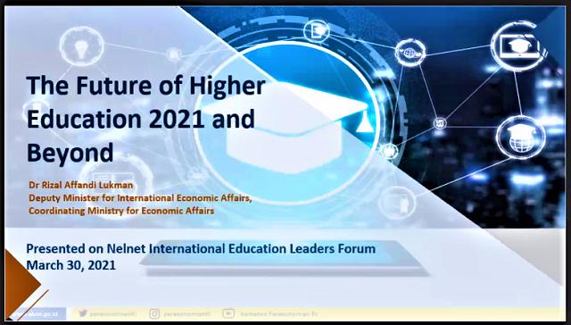 Dialog Internasional Terkait Dunia Pendidikan Di Masa Pandemi Covid-19