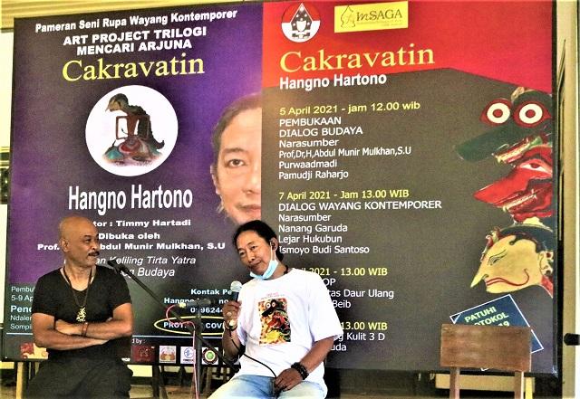 Hangno Hartono Gelar Pameran Trilogi Mencari Arjuna Di Pendapa Sompilan-Ngasem Yogyakarta, 5-9 April 2021