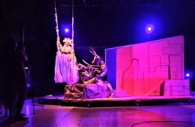 Teater Eska UIN Sunan Kalijaga Gelar Teater Sinematik Secara Virtual Berjudul Tiga Bayangan